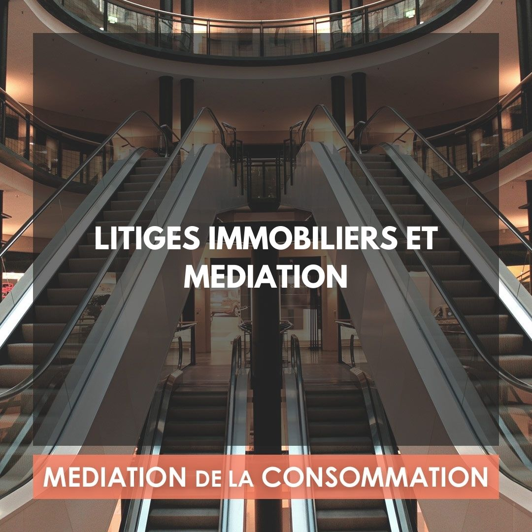 LITIGES IMMOBILIERS ET MEDIATION
